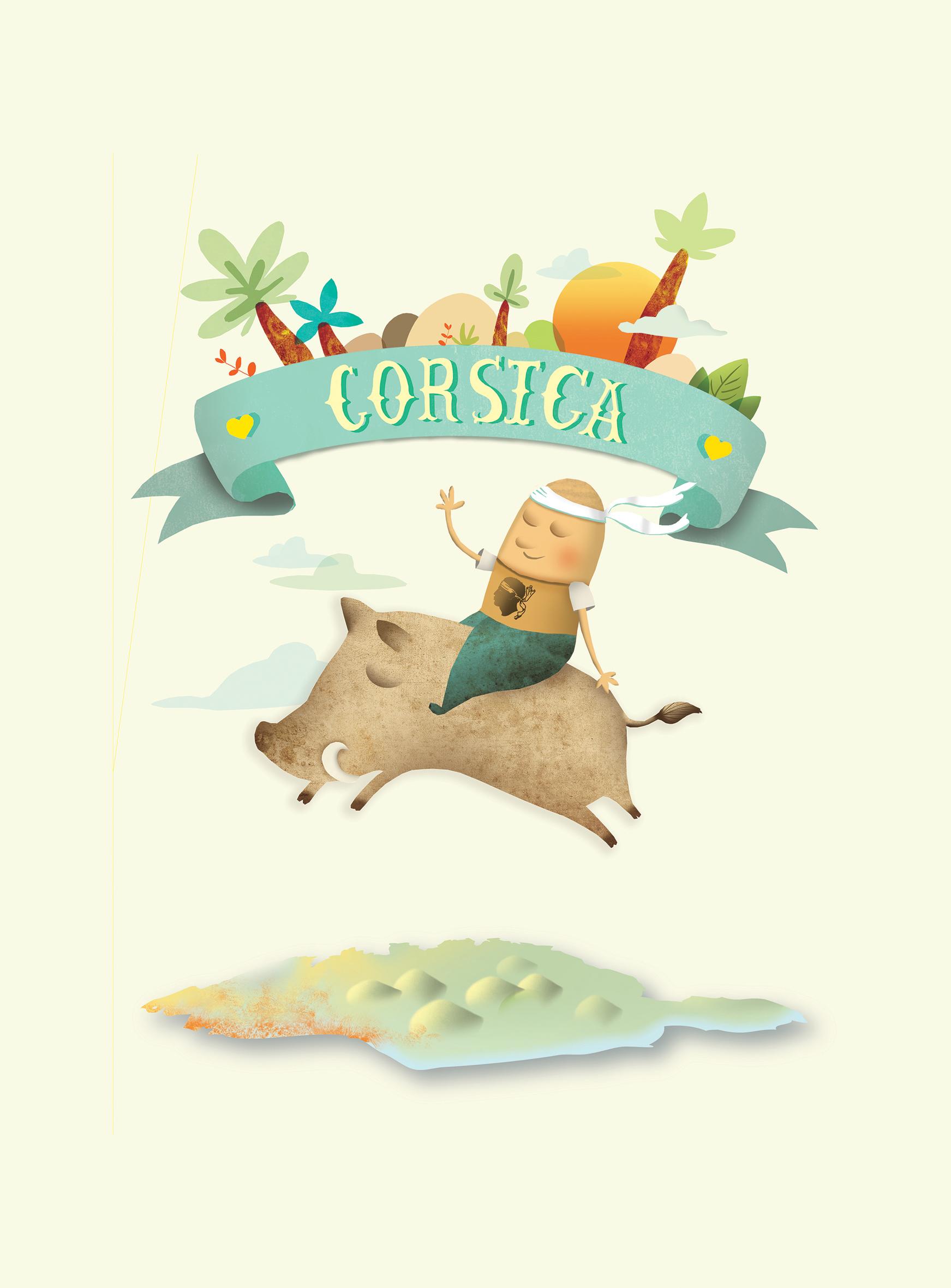 illustration Corsica