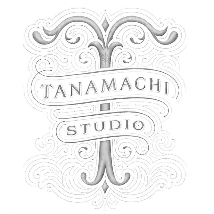 Identité typographie Tanamachi Studio