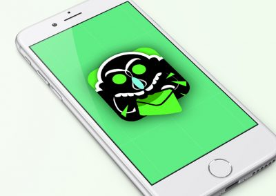 Icône SMS Harrassment
