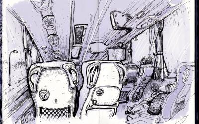 Croquis de bus